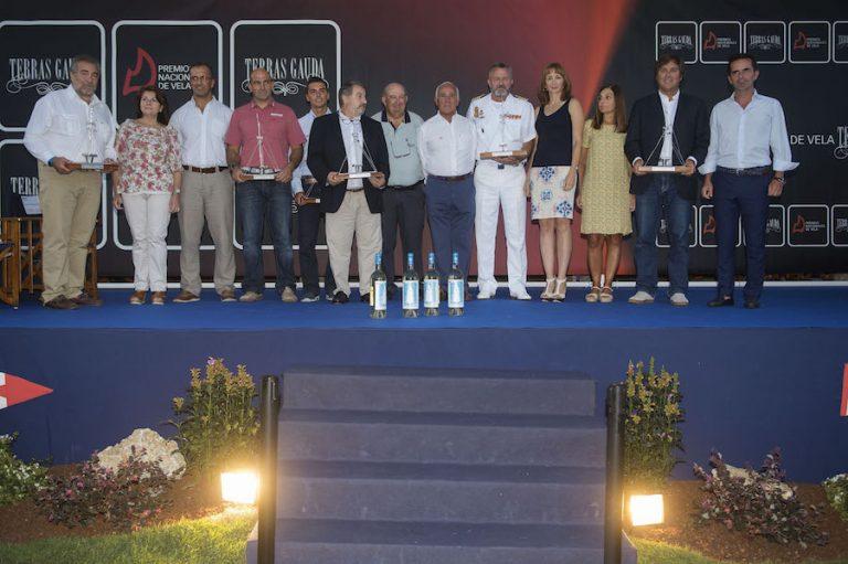 Premios Nacionales de Vela en Baiona 1